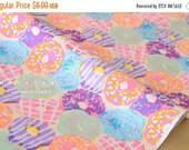 Japanese Fabric Yuwa Doughnuts - pastel - 50cm