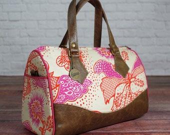 Swoon PATTERN - Blanche Barrel Bag