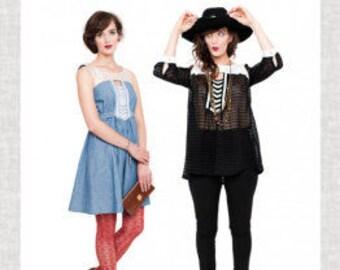 Victory PATTERN - Anouk Dress & Tunic - Sizes 2 - 16