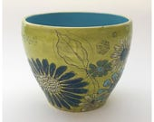 Chartreuse Flower Bowl