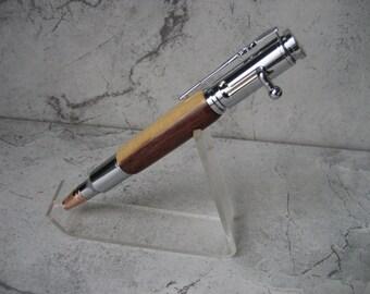 Bolt Action .30 Caliber Replica Pen (Guyana Rosewood)