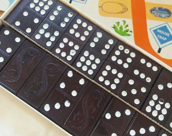 Vintage Dominoes 55 pieces