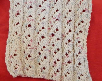 pattern for waterfall lace bathing cloths