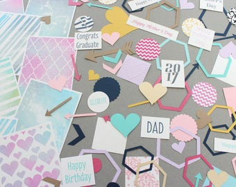 Card Making Kit/ DIY Mother's Day Card/ Father's Day Card/ DIY Cards/ Craft for Kids/ Easy to Make Cards/ Mother's Day Craft