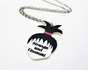 Beetlejuice Strange and Unusual Necklace