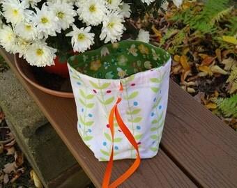 1960's Floral Bag....