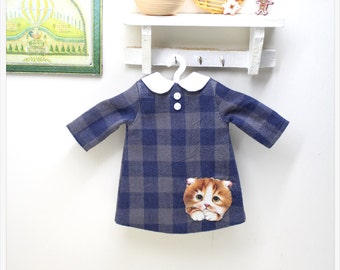 LADYBIRD HOUSE Blythe Outfit Cat Dress - A