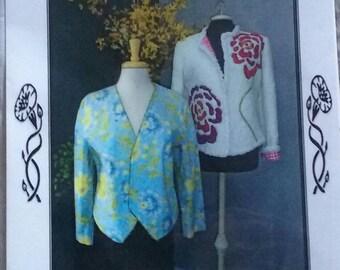As You Wish Jacket Pattern & Chenille Scarf Pattern