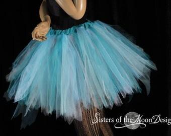 Fairy tutu skirt adult streamer frozen periwinkle pixie Elsa run race costume halloween carnival EDC -You Choose Size - Sisters of the Moon