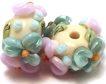 Cirrus Ivory Floral Spacers