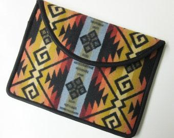 "13"" MacBook AIR or Macbook Pro RETINA Laptop Cover Sleeve Case Blanket Wool from Pendleton Oregon"