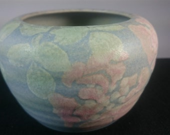 Vintage Welsh Conwy Wales Art Pottery Bowl Vase