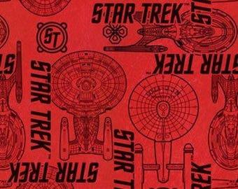 Camelot #003 STAR TREK 63100107-2 Fabric - Cuts by HALF Yard Increments