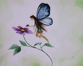 The Rescue Fairy - Fine Art Print
