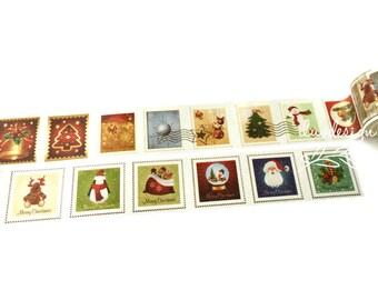 Christmas Stamp Washi Tape (185129)