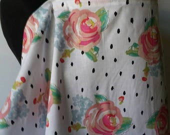 Nursing Cover, Breastfeeding Feeding Cover, Nursing Cover Up,  Summer Rose