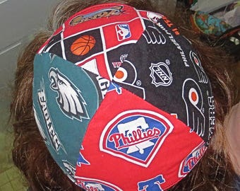 Philadelphia many teams yarmulke or kippah Phillies Eagles Flyers 76ers  professional sports yamaka great gift for him