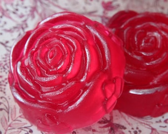 Rose Jelly Soap