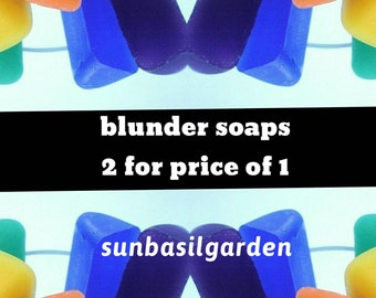 Gift for Her. Bath Bombs Soap. SALE BLUNDERS & BLOOPERS 2 for price of 1. For Her. For Him. coworker gift. best friend gift. sample set sbg