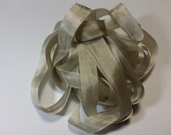 Vintage Seam Binding-Coconut