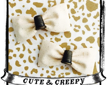 Pin Pricked Set Hair Clips