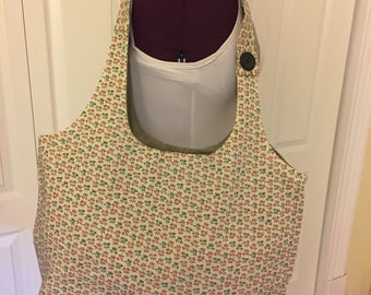 One of a Kind Floral tote bag