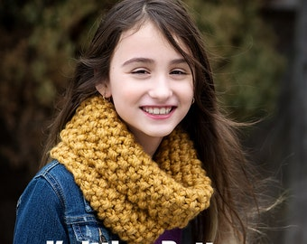 Knitting Pattern - Chunky Cowl