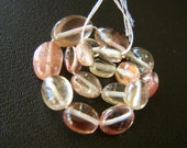 Oregon Sunstone Free Formed Polished Nuggets - Full Strand - 5.5 to 12mm - 5 Inches