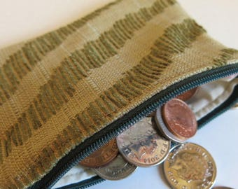 Coin purse - olive green