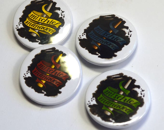Harry Potter Badge Set