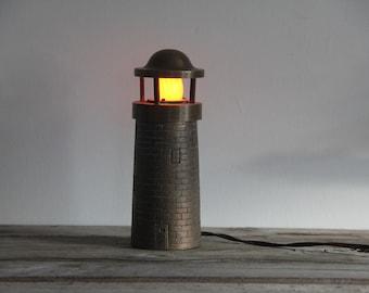 Brass Lighthouse Light