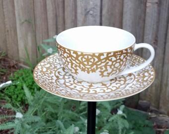 Oversized Tea cup Bird Feeder or Bath