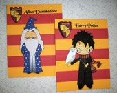 HARRY POTTER  - Set of 10 Notecards and envelopes - See all Photos - House Crests - HPN 0908