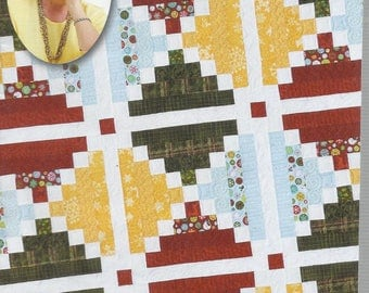 Quilt In A Day Pattern-Chimneys and Cornerstones By Eleanor Burns-Easy