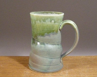 Stoneware, Handmade, 16oz, Pottery Mug, Coffee, Beer or Tea . Great Beer or Coffee Lovers Gift !