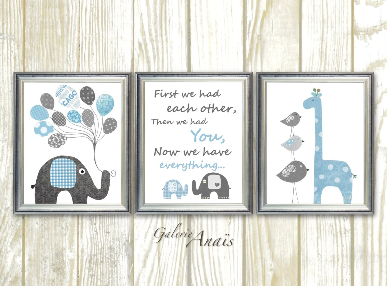 Elephant nursery decor nursery decor elephant nursery for Elephant bathroom accessories