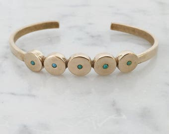 MODERN MINIMAL TURQUOISE Bracelet