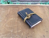 Small leather journal /carry along/