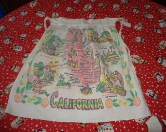 Vintage USA California Cotton Apron