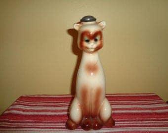 Vintage Siamese Kitty Cat Feline Laundry Sprinkler Bottle