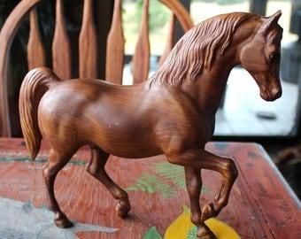 Breyer #907 woodgrain Family Arabian Stallion antique toy pony for custom bait