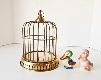 Vintage Bird Cage, hanging bird cage, birdcage centerpiece, decorative birdcage, birdcage planter