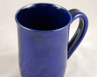 Monster Mug Holds 28 oz in Cobalt Blue for Coffee Tea or Anything