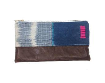 Wallet Wristlet African Baule| CARRIE