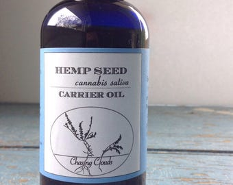 Hemp Seed Oil - Unrefined - Aromatherapy - Carrier Oil