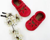 Poppy Sunrise SANDALS   Soft Soled Leather Shoes Baby and Toddler Free Shipping in US
