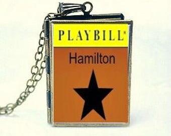 Hamilton, Broadway Theatre, Rap Musical, Tony Award Best Musical, American History Story, Hamilton Inspired Playbill