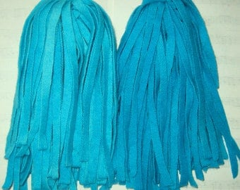 Rug Hooking Wool Strips Turquoise Number 8 Dorr Wool Hand Dyed New