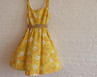 Spring dress {orange blossom  } size 16-18