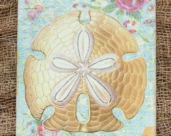 Sand Dollar Beach Seashore Gift or Scrapbook Tags or Magnet #160